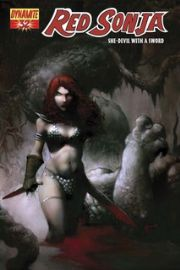 Red Sonja #32 Nat Jones Cover Dynamite Entertainment US Import